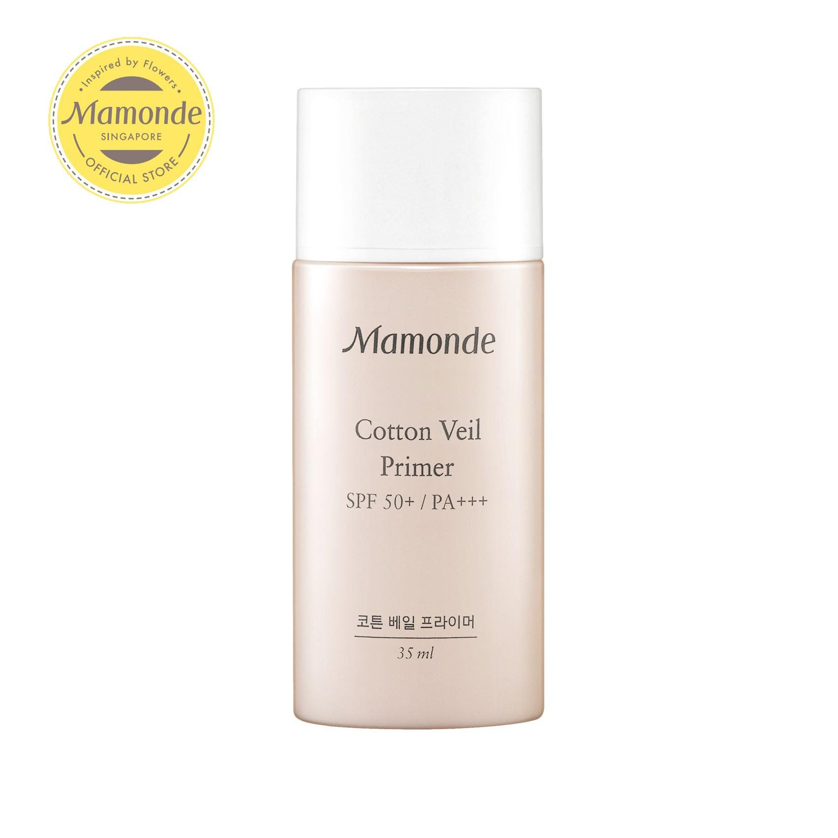[flash Sales] Mamonde Cotton Veil Primer [3 Shades Available, Choose From Options] 35ml By Mamonde (capitaland Merchant).