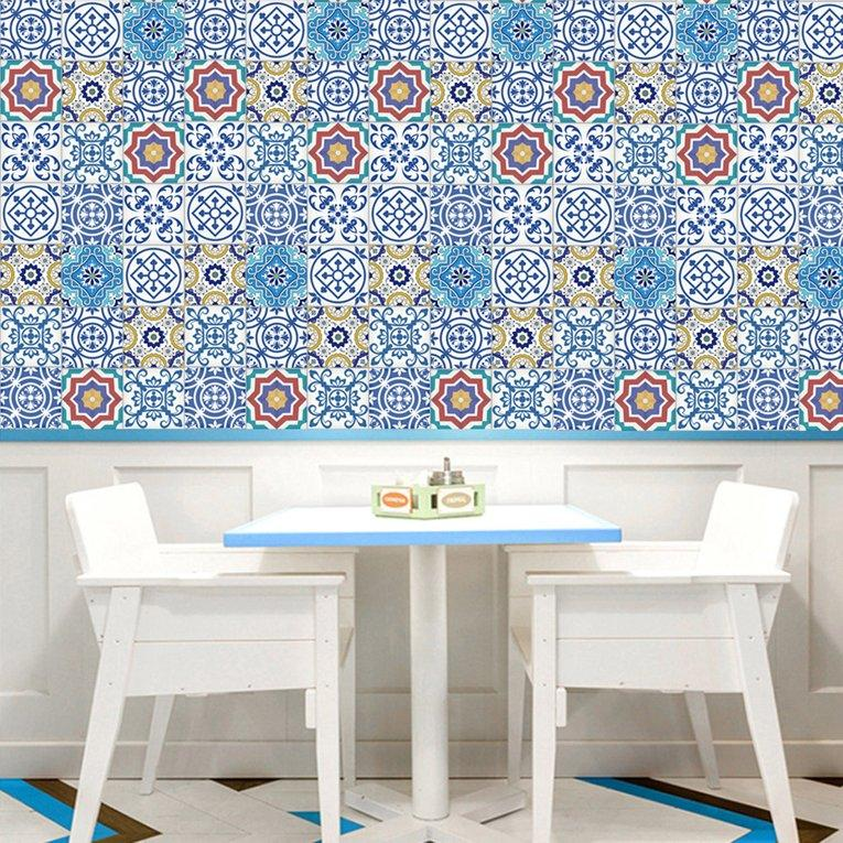 Price Osman Oil Resistant Waterproof Home Decor Self Adhesive Wall Tiles Stickers 20Cm 5M Online Singapore