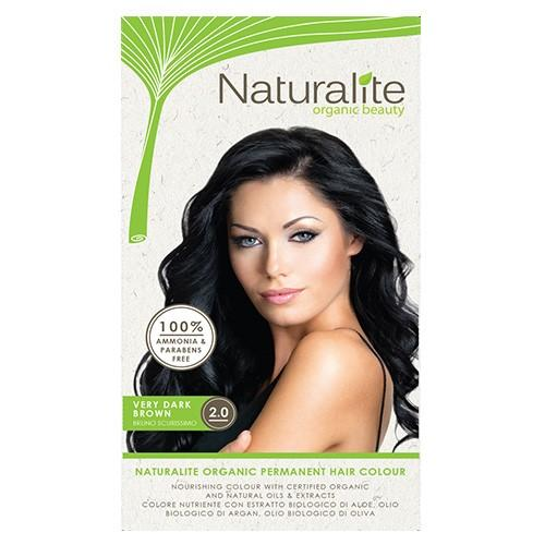 Buying Naturalite Very Dark Brown 2 100 Organic Long Lasting Permanent Hair Colour Dye Chemical Free Parabens Sls Free Product Of Italy