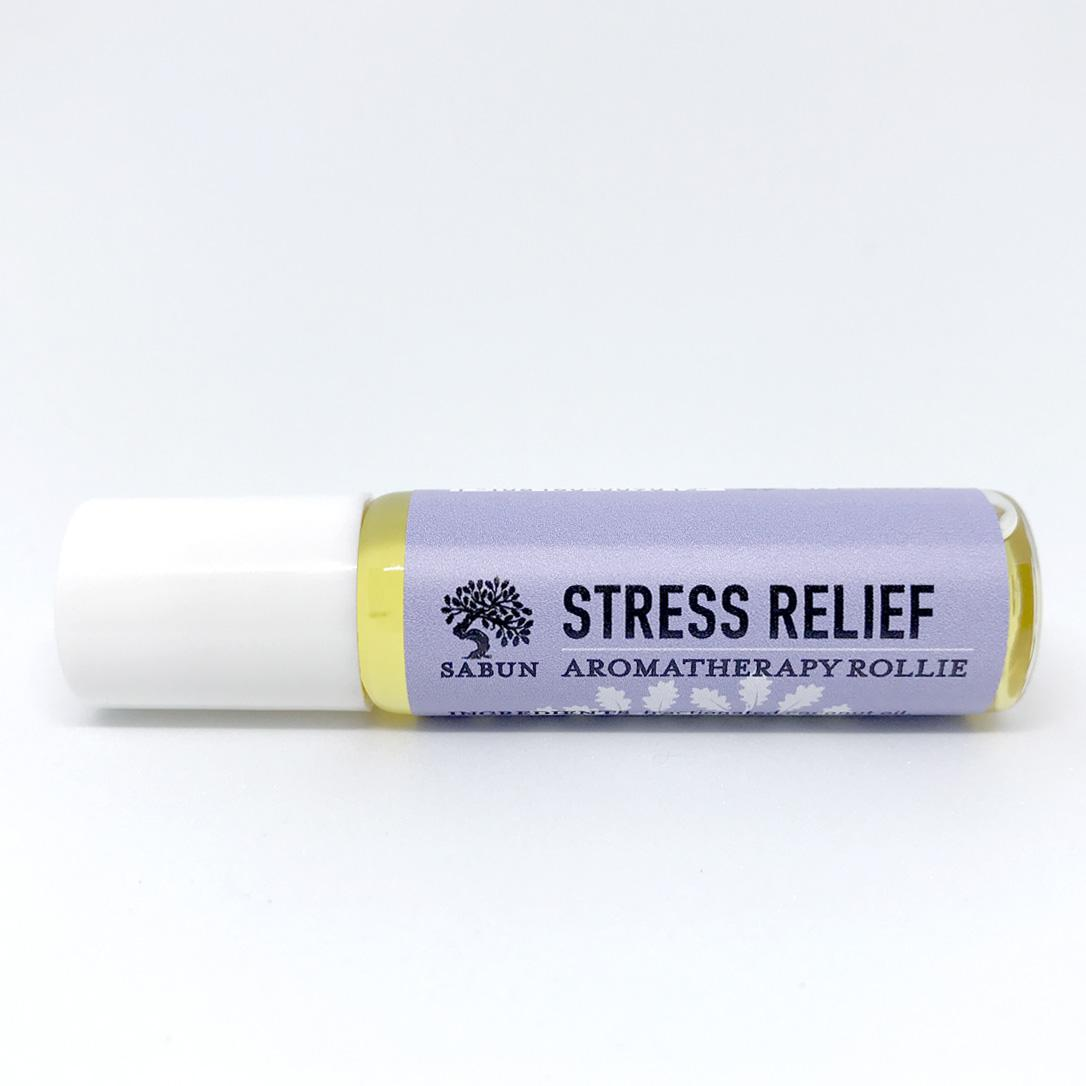 Stress Relief Aromatherapy Rollie By Sabun.