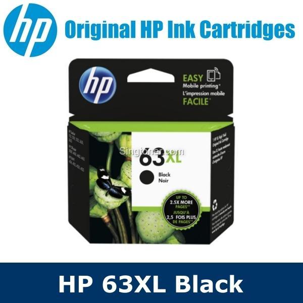 [original] Hp 63xl Black / Tri-Color Color Ink Cartridge For Hp Deskjet / Officejet / Envy Printers Hp63xl Hp Deskjet 1110 / 1112 / 2130 / 2132 / 3630 / 3632 Hp Envy 4520 / 4522 / Hp Officejet 3830 / 4650 / 5220 By Singtoner.