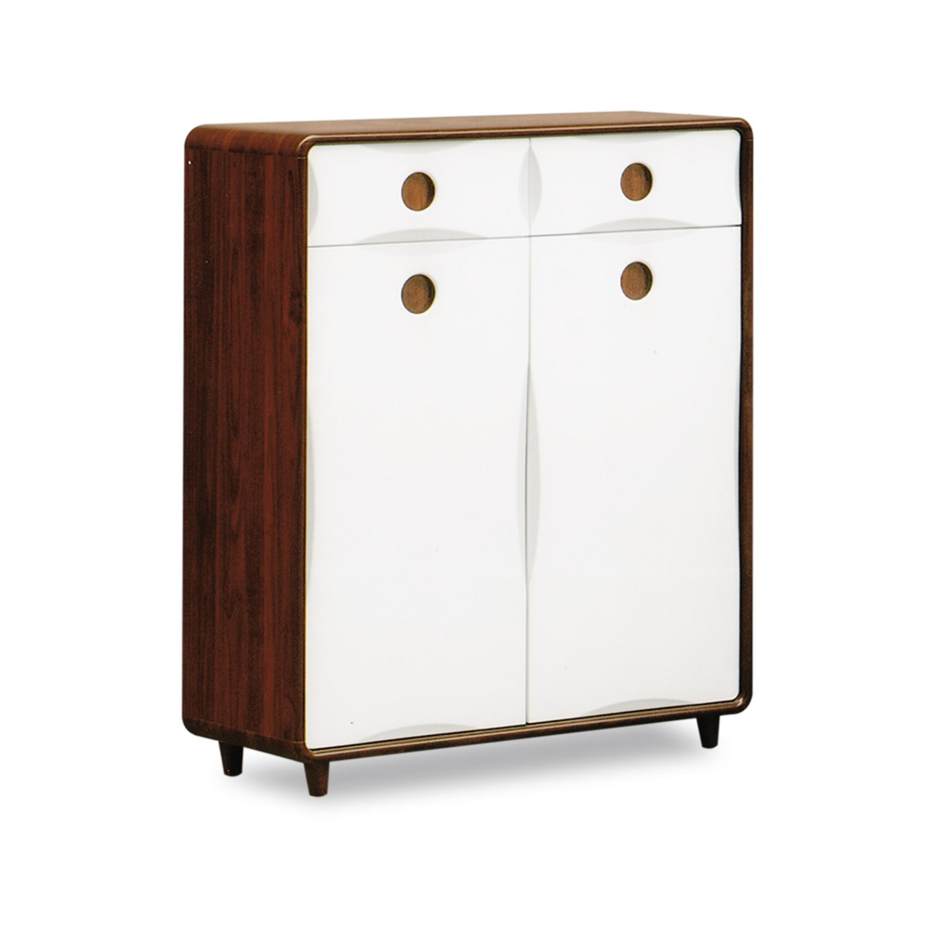 Robin 2 Doors Shoe Cabinet (FREE DELIVERY)(FREE ASSEMBLY)