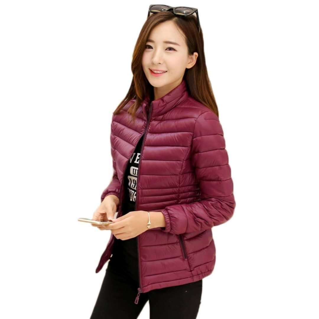 bb66d43a491 2019 New Style Cotton Coat Female Short Korean Style Slim Fit Slimming Thin  Large Size Women s