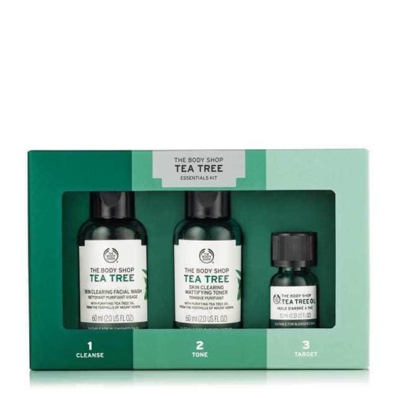 Buy The Body Shop Tea Tree 1,2,3 Kit Singapore