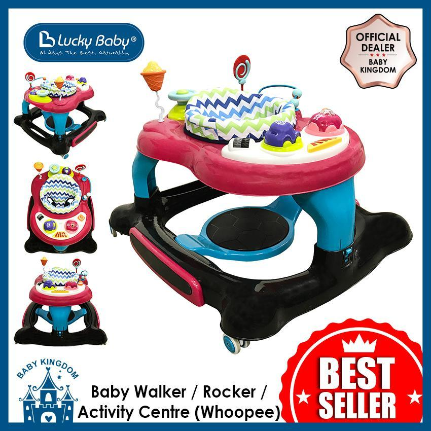 Lucky Baby Baby Walker / Rocker / Activity Centre (whoopee) By Baby Kingdom.