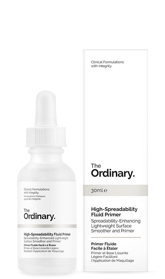High Spreadability Fluid Primer By The Ordinary By Frontier Beauty.