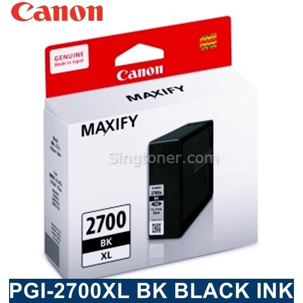 Original Canon Pgi 2700 Xl Black Cyan Magenta Yellow Ink For Printer Ib4070 Mb5070 Mb5370 Mb5470 Pgi2700Xl Pgi2700 2700Xl Discount Code