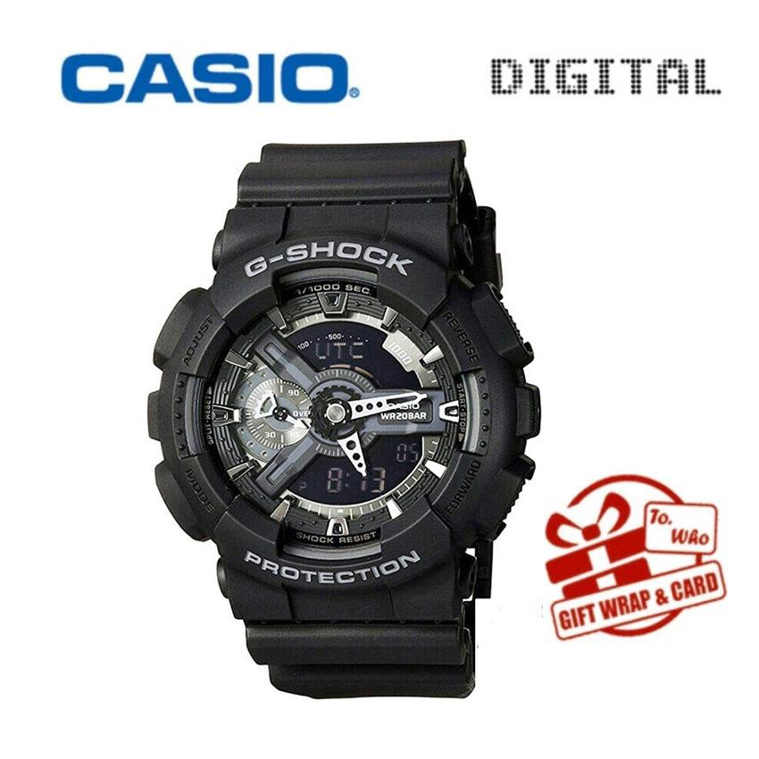 Compare Price Casio Sport Watches Waterproof Shockproof Watch Black Gold Men S Watch Ga 110Gb Casio On China