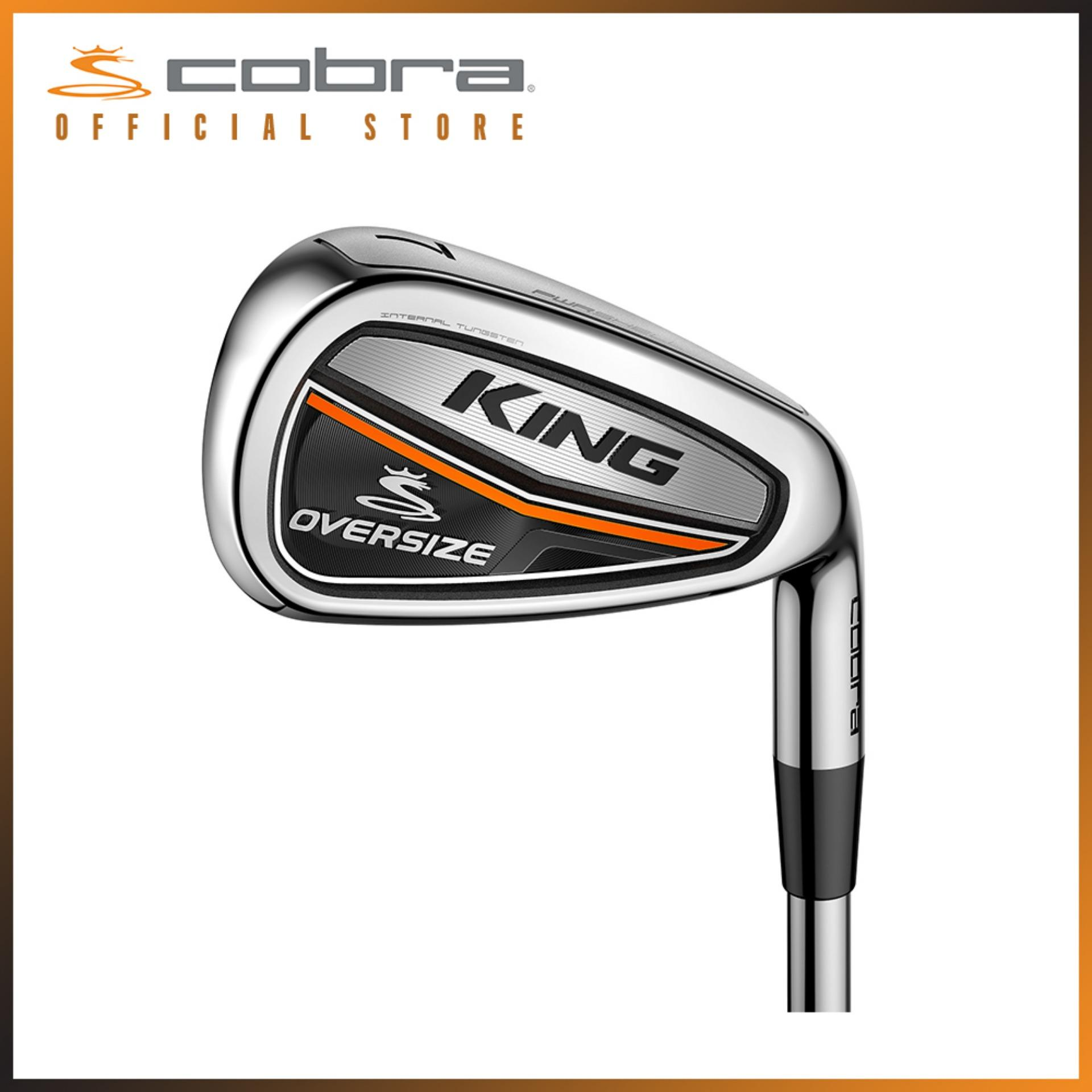 Cobra Golf King OS Iron Black (Global) Men, Graphite Regular, 5-PW (6 Clubs)