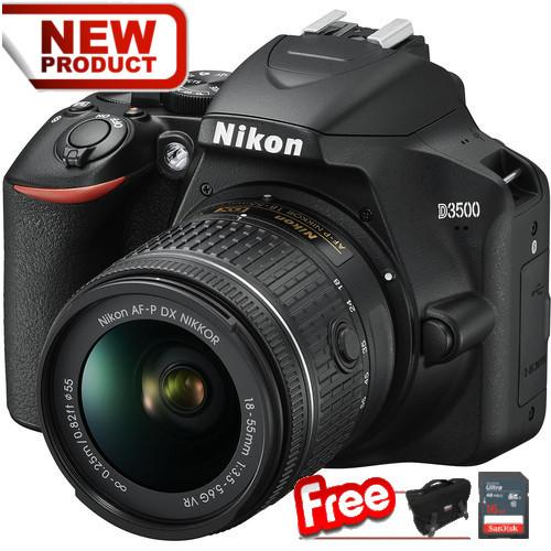 [new] Nikon D3500 + 18-55mm By Photozy Cameras.