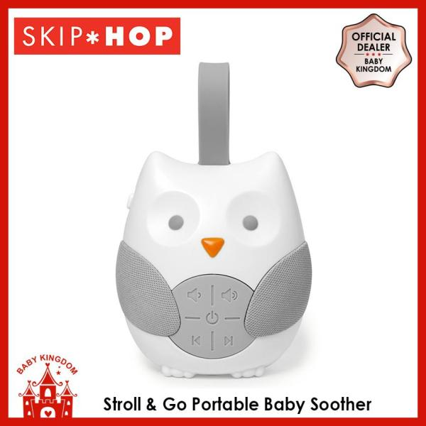 Skip Hop Stroll & Go Portable Baby Soother - Owl Singapore