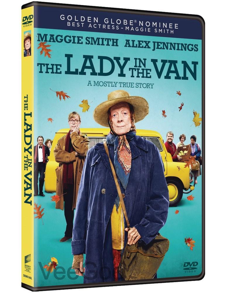 THE LADY IN THE VAN DVD (PG13/C3)