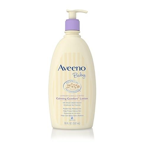 Best Offer Aveeno Baby Calming Comfort Moisturizing Lotion Lavender Vanilla 532Ml