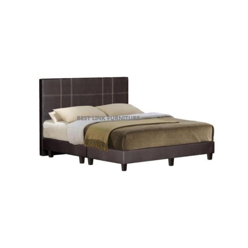 BEST LINK FURNITURE BLF 403 Bed Frame + 6 Foam Mattress (Queen)