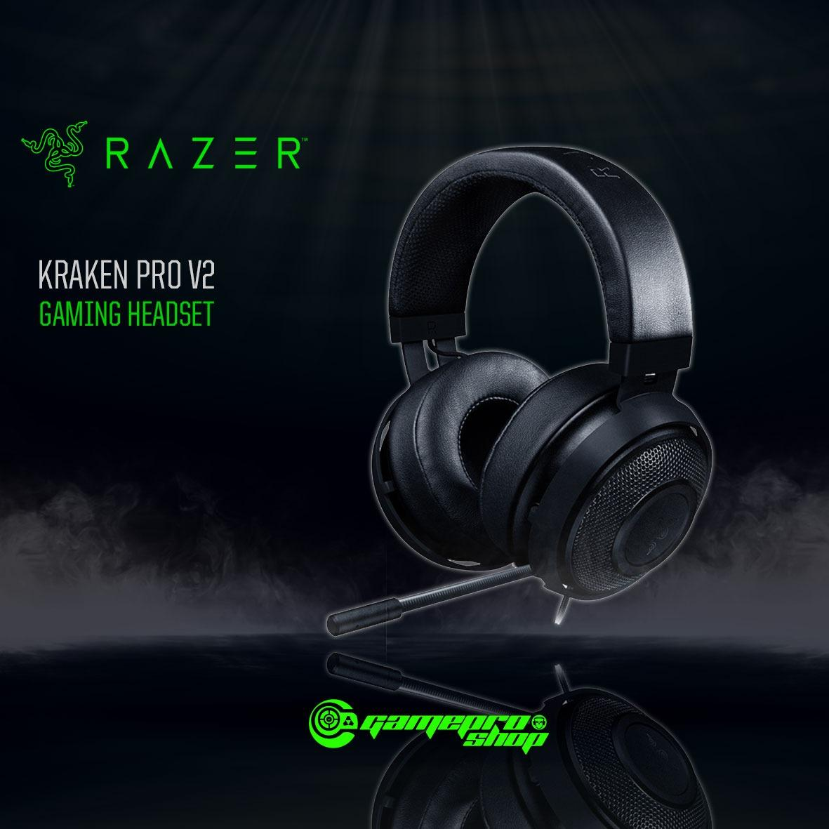 Razer Kraken Pro V2 Gaming Headset Black In Stock