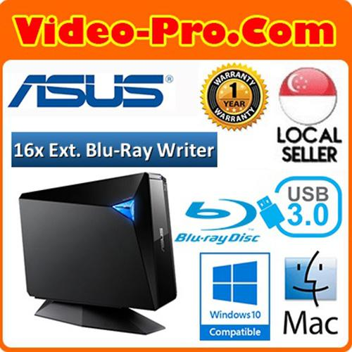 Asus BW-16D1H-U Pro USB 3.0 External Blu-Ray Writer