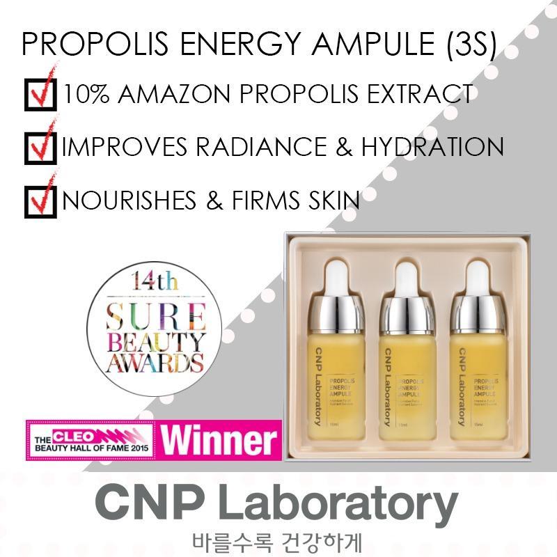 Sale Cnp Laboratory Propolis Energy Ampule Jumbo 15Ml X 3Pcs Cnp Laboratory Wholesaler