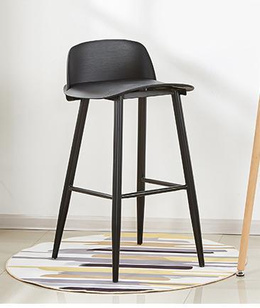 JIJI MUUTO High Chair Stool (Free Installation) - Bar Chairs / Bar Stools / high chair /Designer dining Chair /Bar high chair/ Furniture Chair  Free 12 Months Warranty (SG)