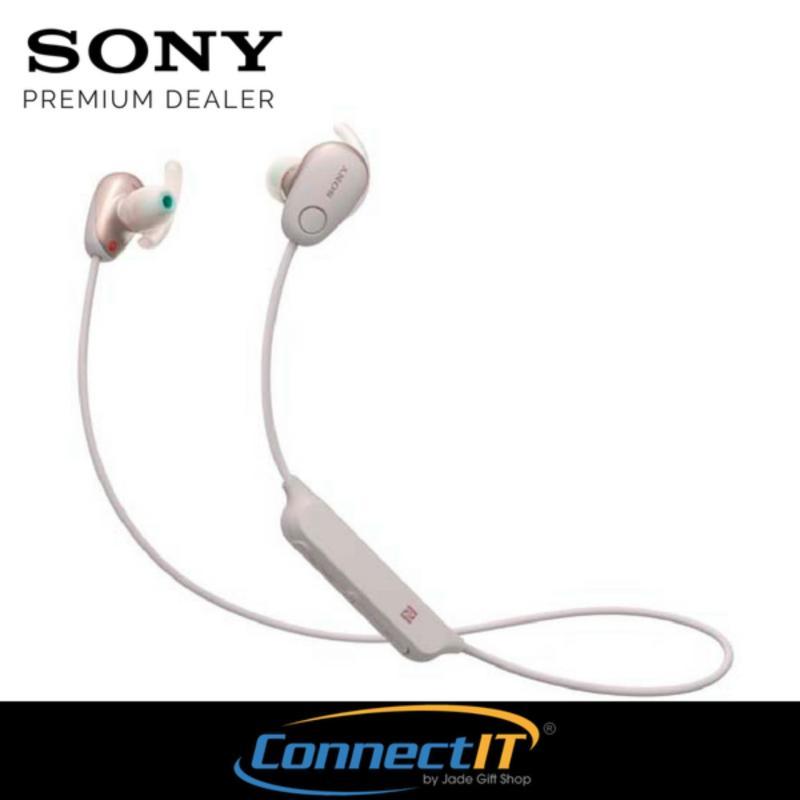 Sony WI-SP600N Wireless Noise-Canceling In-Ear Sports Headphones (Pink) Singapore