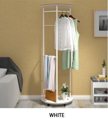 JIJI Premiere Home Clothes Rack LRCR - 08A (Free Installation) - Closet Organiser / Coat Racks / Hallway Entry Furniture (SG)