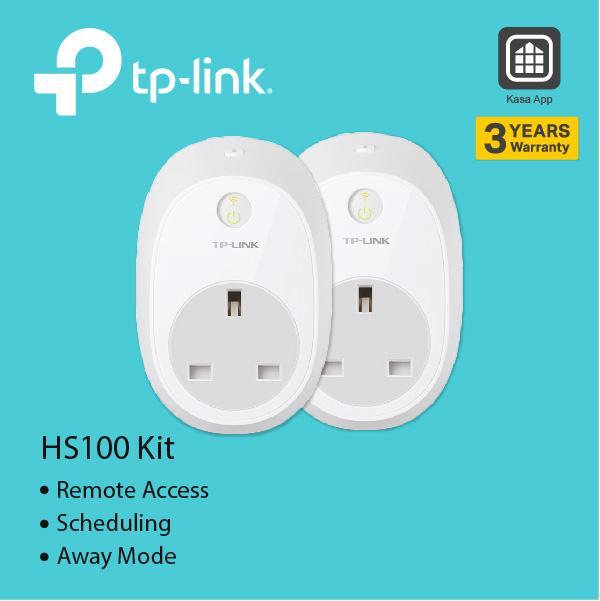 TP-LINK Kasa Smart Wi-Fi Plug HS100 KIT
