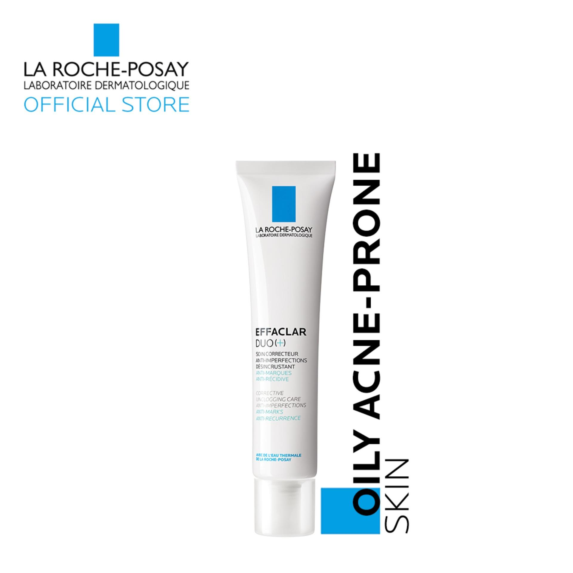 Effaclar Duo (+) [oily, Acne-Prone Skin] 40ml By La Roche-Posay By La Roche-Posay Official Store.