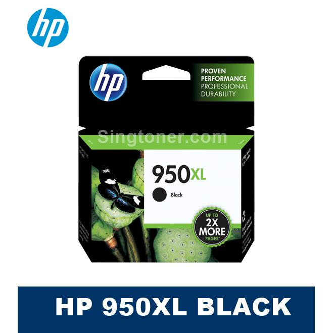 Compare Original Hp 950Xl Black Ink Cartridge For Officejet Pro 8610 8620 8600 8100 E 276Dw 950 Xl