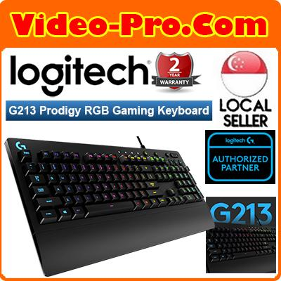 Logitech G213 Prodigy Gaming Keyboard with 16.8 Million Lighting Colors