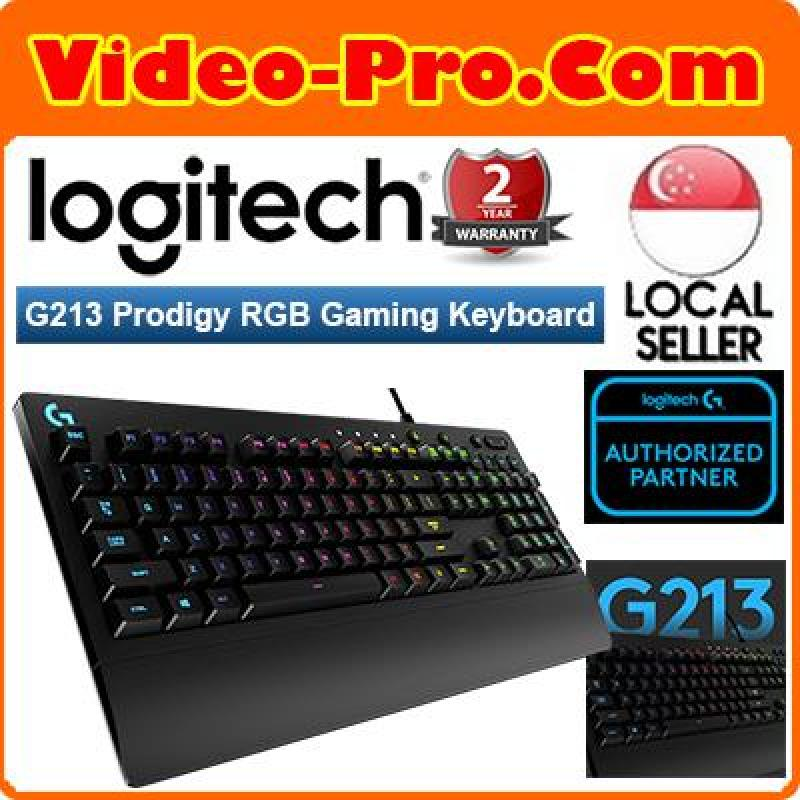 Logitech G213 Prodigy Gaming Keyboard with 16.8 Million Lighting Colors Singapore