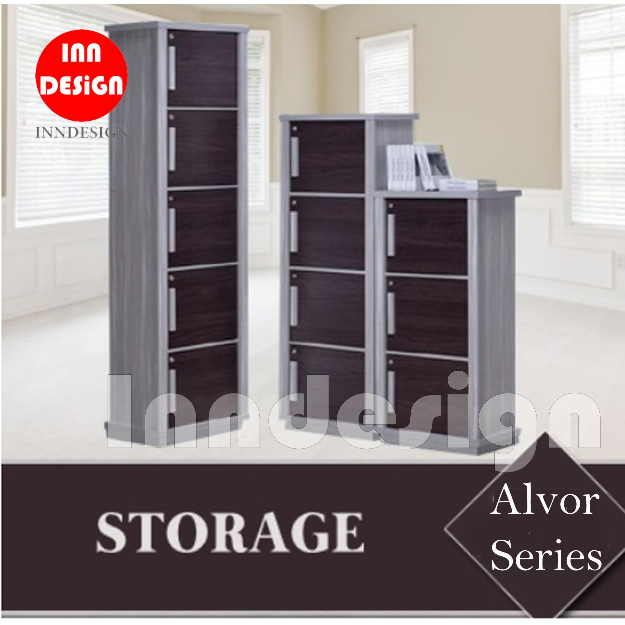 Alvor Series Utility Cabinet / Bookshelf / Storage Cabinet