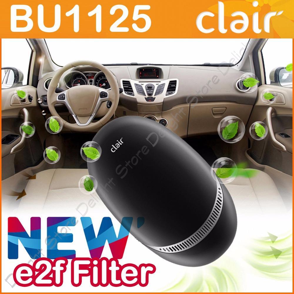 Sale Clair Korea Bu1125 Air Purifier For Automotive And Home Black Intl Clair
