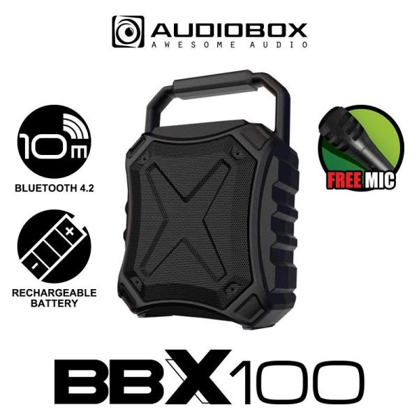 Audiobox Bluetooth 4.2 BBX 100 Portable Speaker with free Microphone Singapore