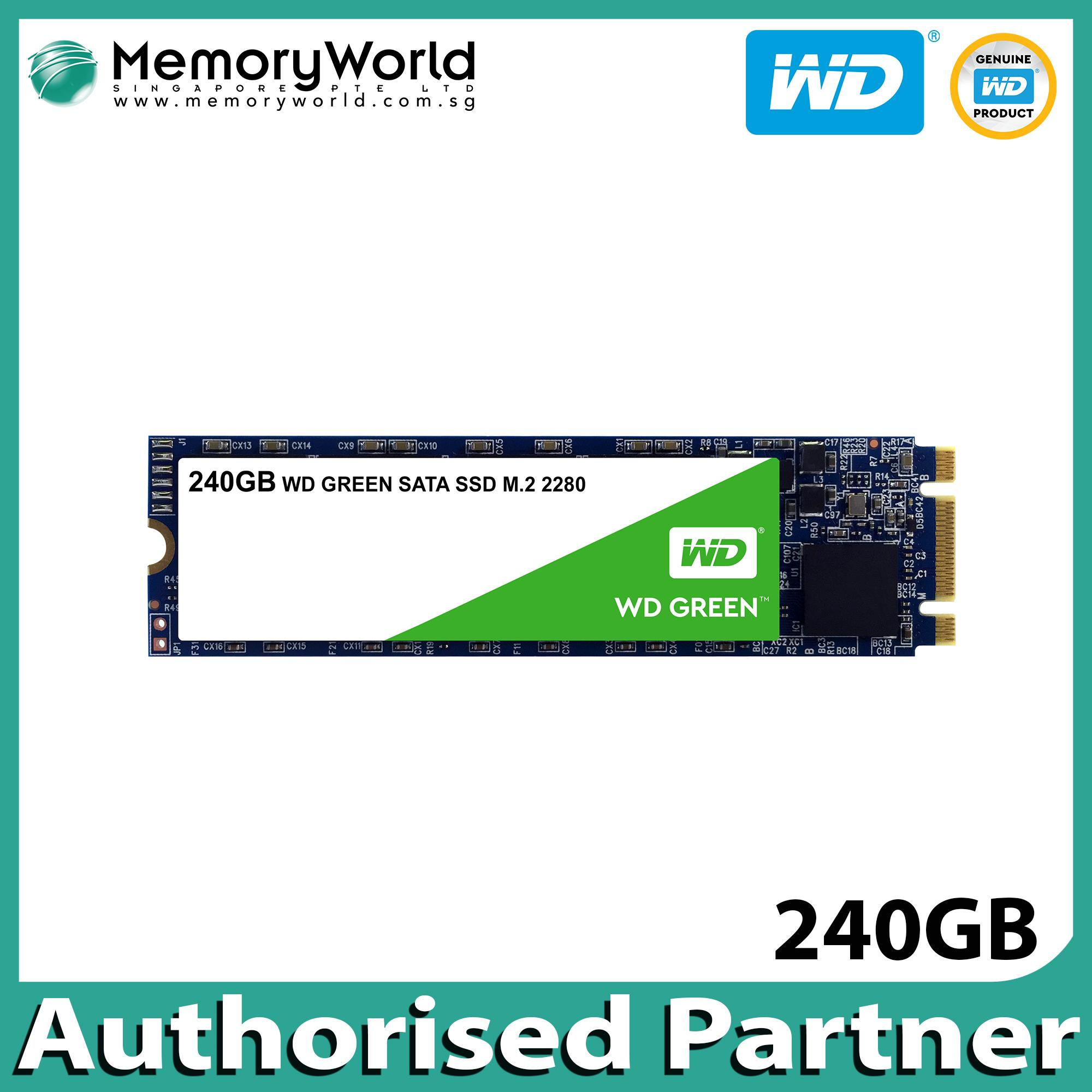 Ssd Wd Green 240gb 25 Sata Blue 250gb3yrs Singapore Warranty Pc M2