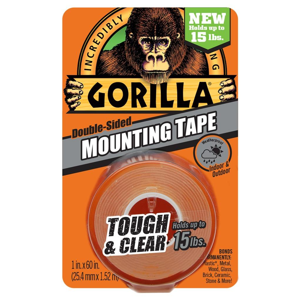 Buy Gorilla Mounting Tape 1 Tough Clear The Gorilla Glue Company Original