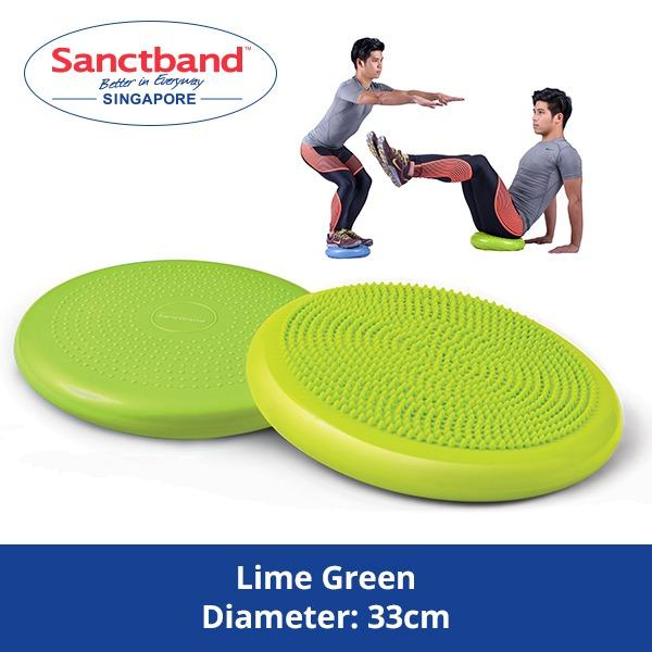 Review Sanctband Balance Cushion Lime Green Sanctband