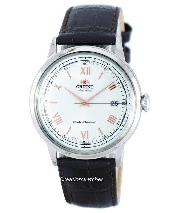 Orient 2nd Generation Bambino Version 2 Automatic Men's Brown Leather Strap Watch FAC00008W0