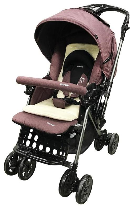 Capella® S705T-18-WINE Adonis-T Travel System Stroller Singapore