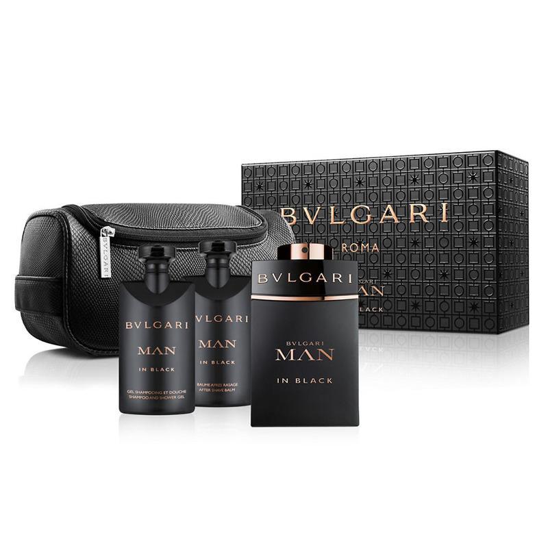 Top Rated Bvlgari Roma Man In Black Edp 100 Ml Gift Set