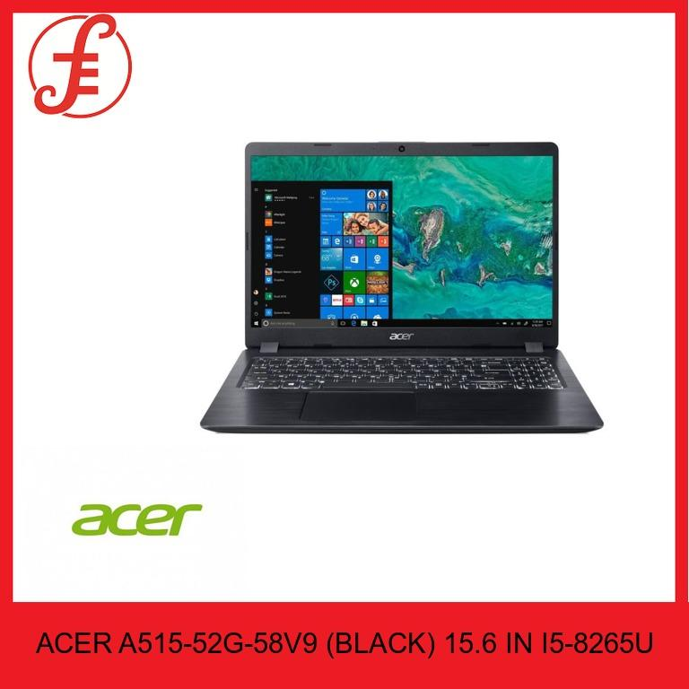 ACER A515 52G 58V9 15.6 IN INTEL CORE I5-8265U 4GB+16GB OPTANE 1TB HDD WIN 10