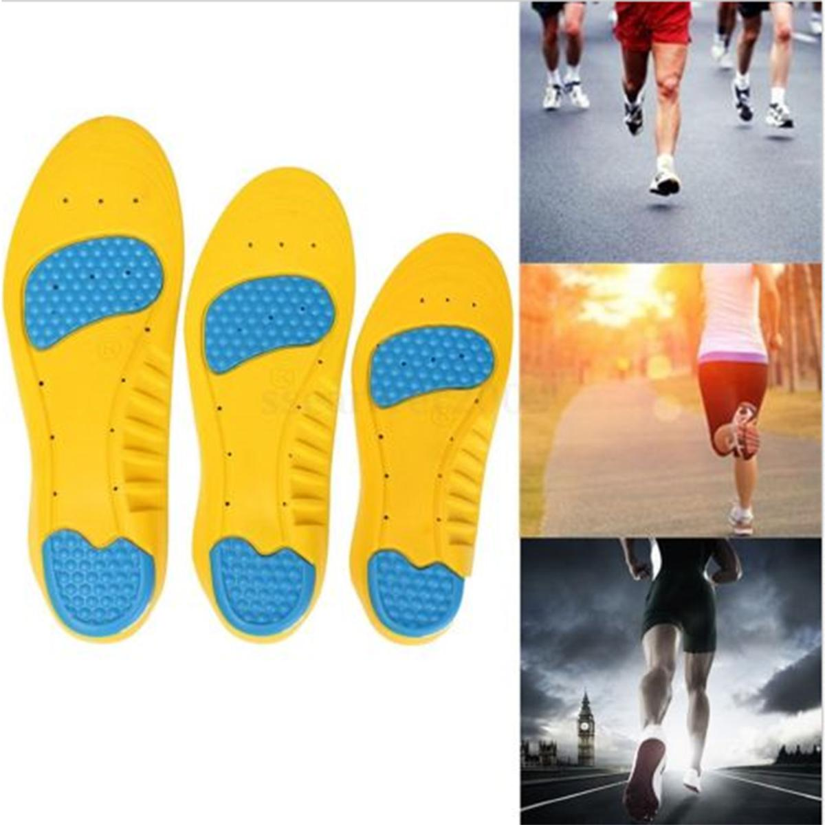 c09698dd3e Memory Foam Orthotics Arch Pain Relief Support Shoes Insoles Insert Pads