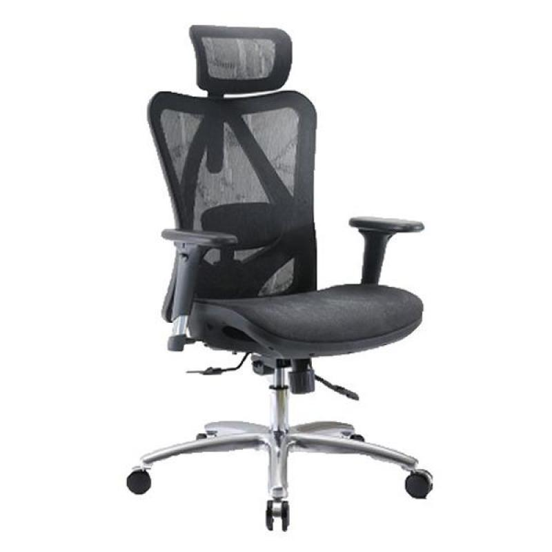 M16 Iden Ventilated Office Chair (Black) Singapore