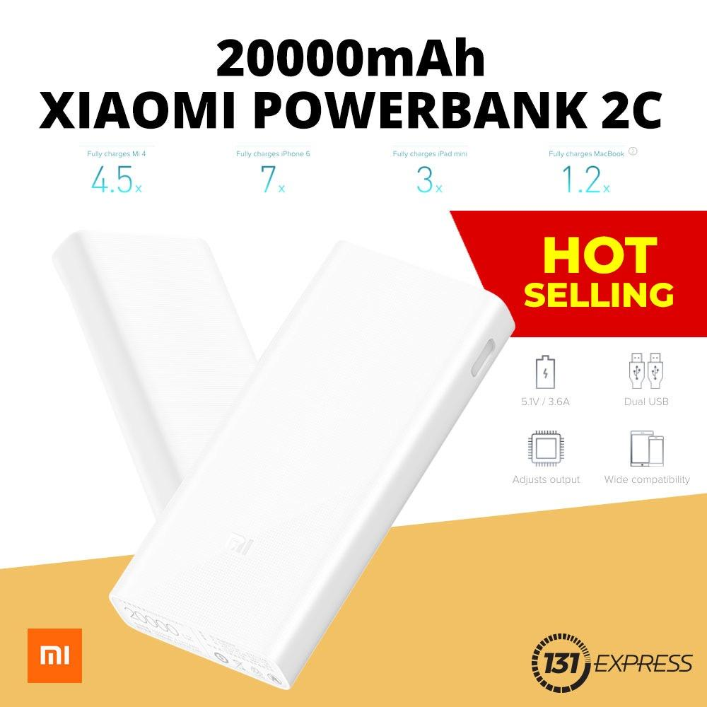 Best Rated Xiaomi 20 000Mah Dual Charge Powerbank