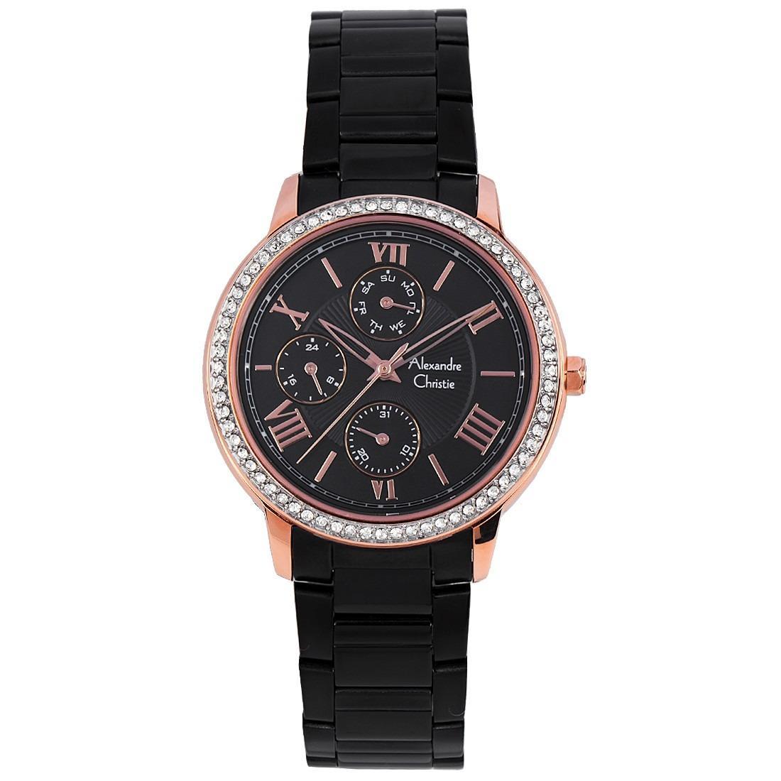 Latest Alexandre Christie Watches Products Enjoy Huge Discounts Ac 6410 Mc Steel Silver Black White Quartz Ladie Strap Fashion Watch 2648bfbbrba