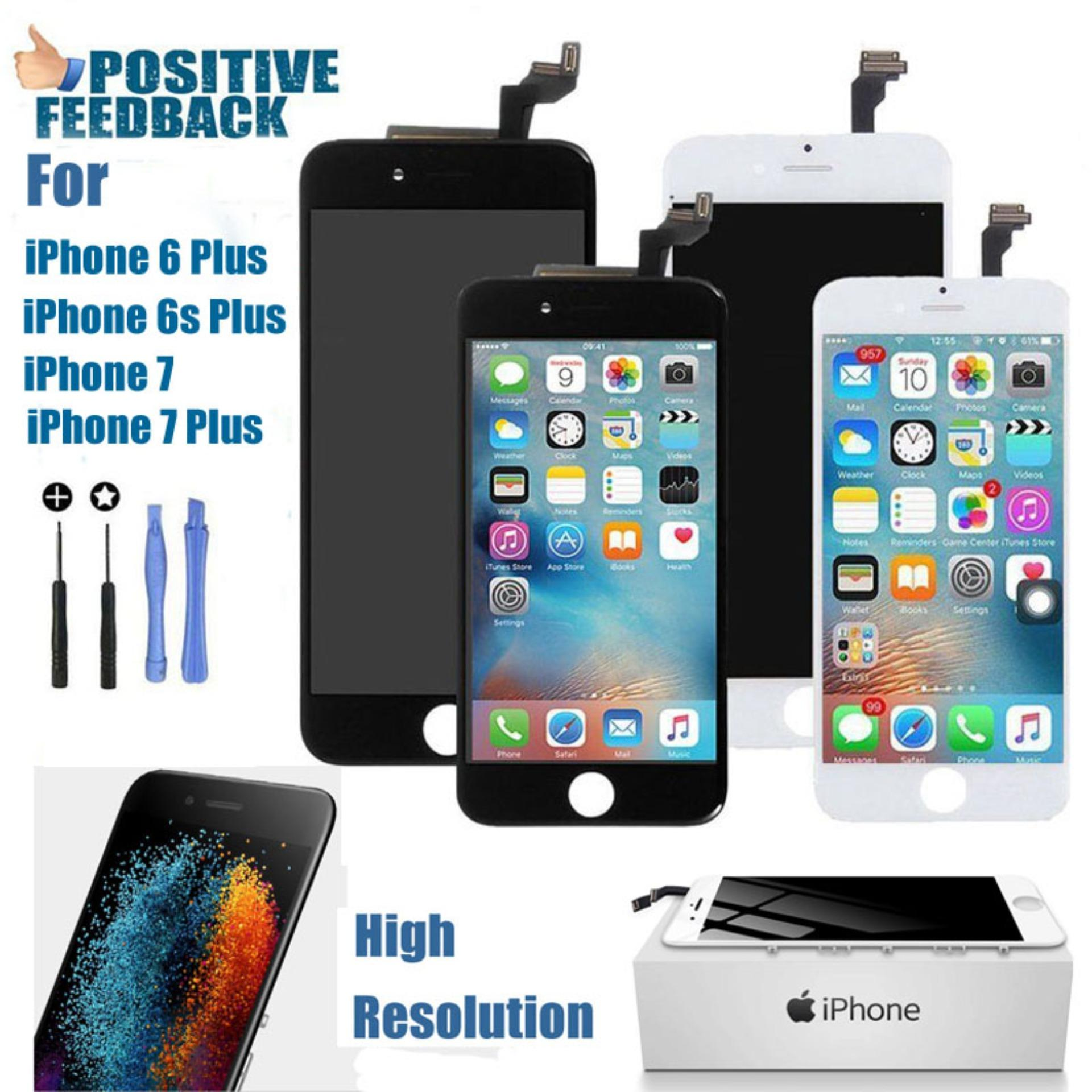 For Apple iPhone 6 6s 7 Plus LCD Display Touch Front Screen Digitizer  Replacement Assembly + d2b89712ec
