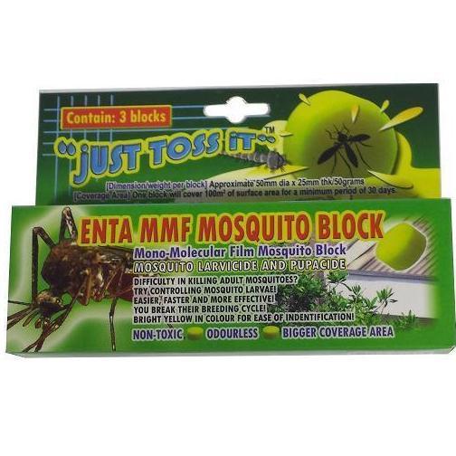 ENTA MMF MOSQUITO BLOCK (Contain 3 Blocks)