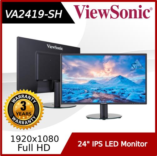 ViewSonic 24 IPS LED Monitor (VA2419-SH)