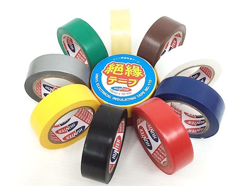 Hunter Vinyl Electrical Insulating Tape 110 (Bundles of 6)
