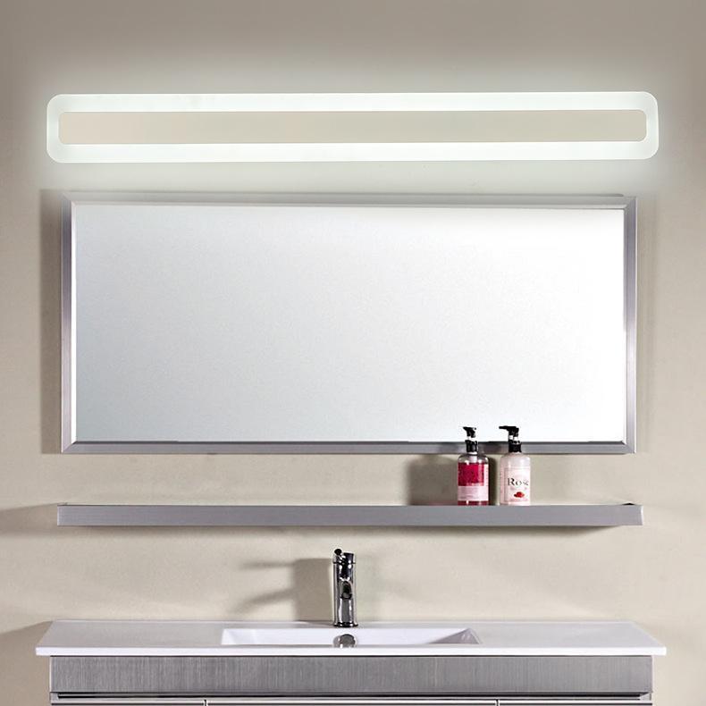 Led Mirror Light Waterproof Bathroom Wall Cabinet Modern European Simple light style Wall Lamp 40cm (Energy Class) A++ - intl