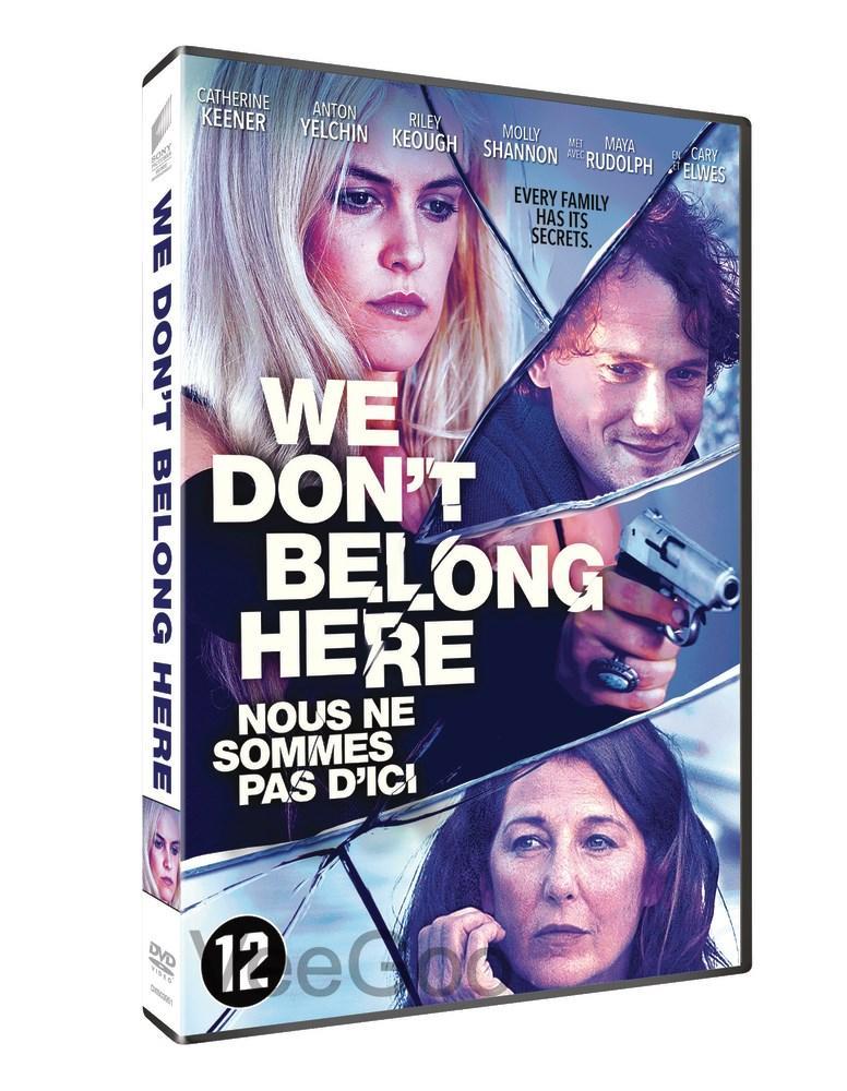 WE DON'T BELONG HERE DVD (M18/C3)