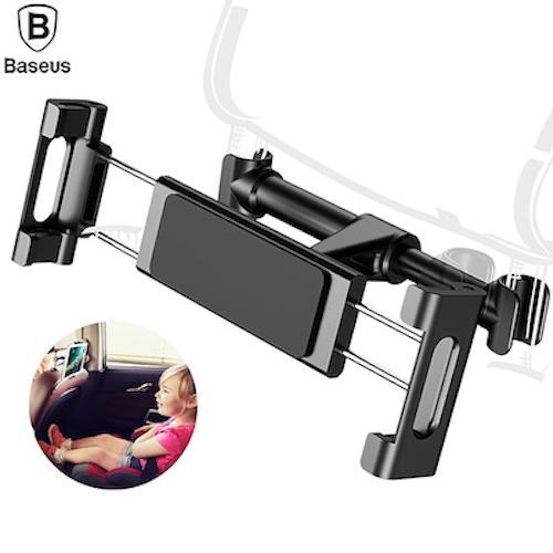 Get The Best Price For Baseus Universal Backseat Car Mount Holder For Phone Tablet 360 Degree Headrest Bracket Car Phone Holder